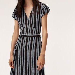 Aritzia, Wilfred Free Jessa Wrap Dress, size XXS